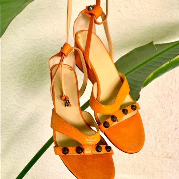 Balenciaga Shoes | Orange Sandals